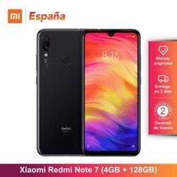 Xiaomi Redmi Note 7 (128GB ROM, 4GB RAM, Camara dual trasera de 48 MP, Android, Nuevo, Libre) [Teléfono Movil Versión Global par 2
