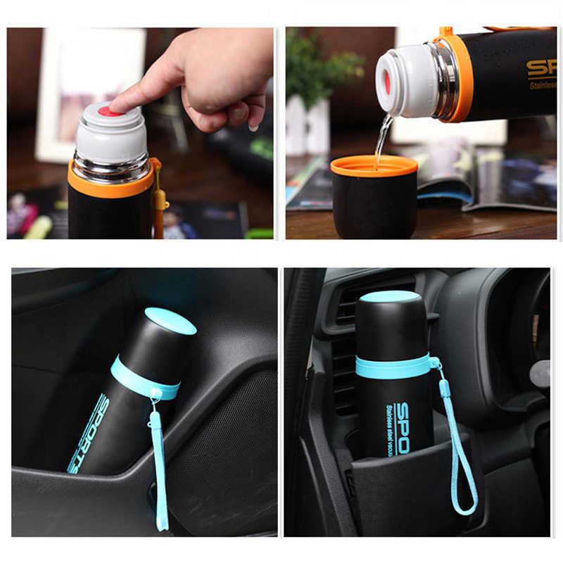 Termo taza 350ml 500ml frasco de vacio de acero inoxidable Termo Shaker deportes botella de agua tepmoc thermocup café taza de té insulated thermos cup garrafa térmica