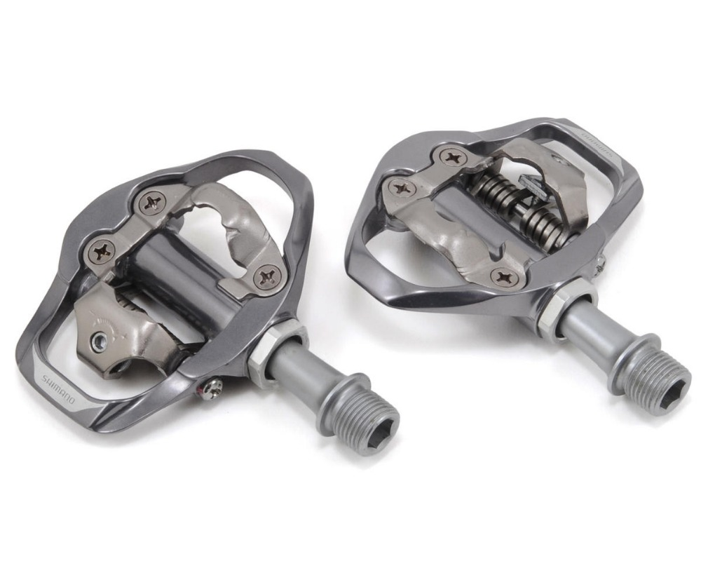 Shimano  PD-A600 SPD Aluminum Pedal PD-A600 Pedals SPD Road Bike Touring Pedals With SPD Cleats