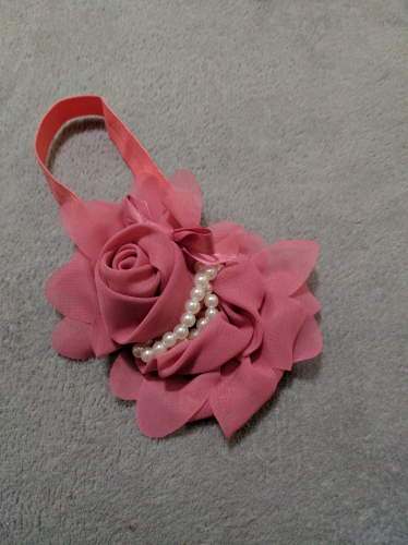 Baby Girl's Hairband With Flower photo review
