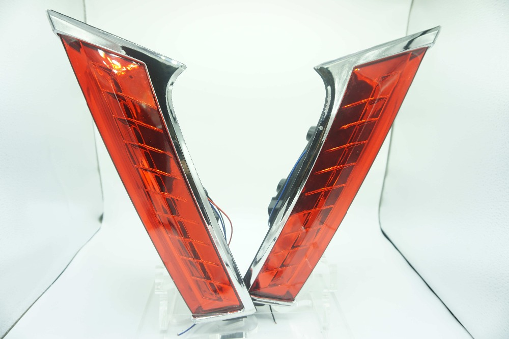 Carstyling LED Rear Light LED Additional Brake Lights LED Bumper Light LED Taillight For Nissan Xtrail X-trail X trail 2014 2015 hochitech excellent ccfl angel eyes kit ultra bright headlight illumination for kia sorento 2006 2007 2008 2009