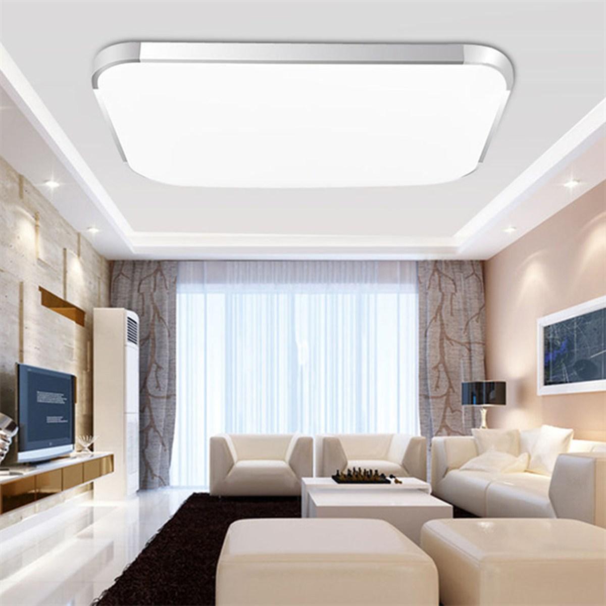 Modern Square LED Night Light 12W 18W 24W Ceiling Lamp Kitchen Bedroom Living Room Home Indoor Lighting Decor