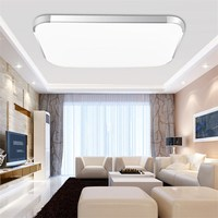 Modern Square LED Night Light 12W 18W 24W Ceiling Lamp Kitchen Bedroom Living Room Home Indoor