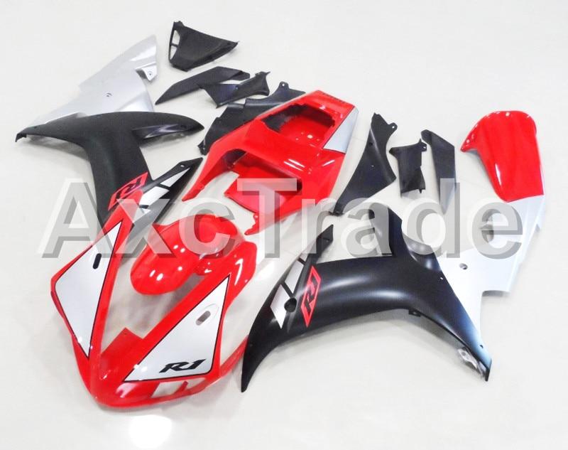 Motorcycle Fairings Fit For Yamaha YZF1000 YZF 1000 R1 YZF-R1 2002 2003 02 03 ABS Injection Molding Fairing Bodywork Kit BK 1812 запчасти для мотоциклов yamaha yzf1000 02 03 r1