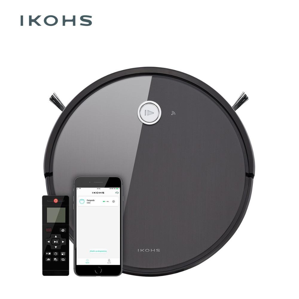 IKOHS NETBOT S14 Vacuum Cleaner Robot Bagless Wireless 120m 2hbattery planned 220V 1400Pa Home appliance Cleaning Smart home