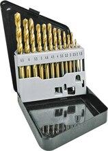 Набор сверл по металлу с титановым покрытием КРАТОН d1,5-6,5 мм 13 шт