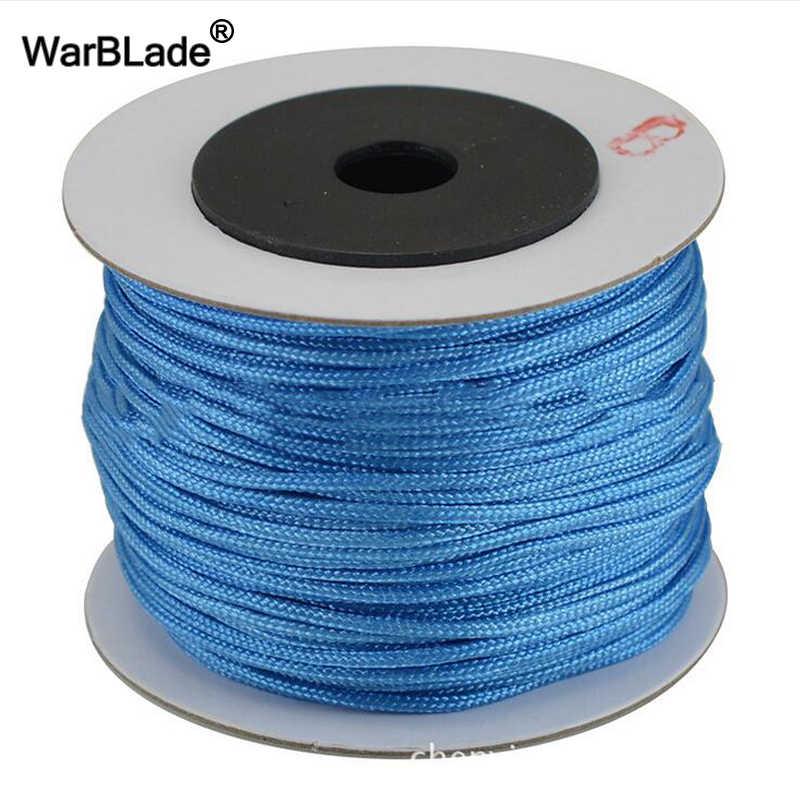 45 m 1.5 mét Bông Dây Nylon Cord Chủ Trung Quốc Knot Nhựa Chuỗi DIY Rope Bead Shamballa Vòng Đeo Tay Vòng Cổ Trang Sức làm