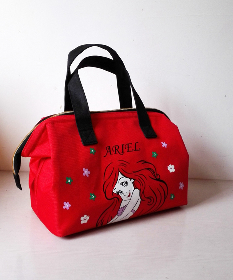 Hot Sale Lunch Bag Insulated Women Tote Thermal Box Cooler Travel Picnic Carry Girls Bag