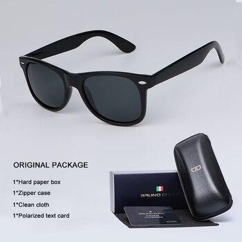 design de qualité 928c0 9db0a Bruno Dunn 2019 unisexe lunettes De soleil hommes femmes polarisées  lunettes De soleil Oculos De Sol masculino feminino ray Lunette soleil femme