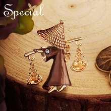 Special New Fashion Gold Brooches Pins Natural Sea Shell Flower Brooch Pins Pearls Wedding Jewelry Gifts for Women S1729B glseevo natural lapis lazuli flower brooch pins and brooches for women accessories birthday gifts dual use luxury jewelry go0183
