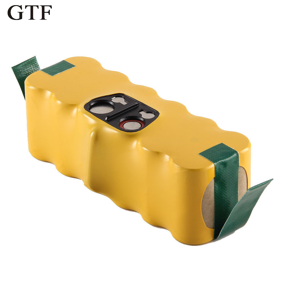 GTF Top Ni-MH Battery for iRobot 14.4 V 3500mAh 80501 500 550 560 510 610 ACCU Rechargeable Battery ...
