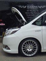 Toyota esquire voxy nav1 2014-2017 글꼴 보닛 후드 수정 가스 스트럿츠 리프트 서포트 쇼크 댐퍼 액세서리 흡수 장치