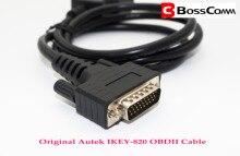 Cable principal de 26 Pins OBD2 para conectar a Autek IKEY820 y otros programador de llave automática al puerto OBDⅡ del coche, Cable Original