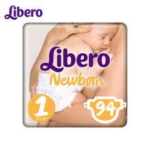 Подгузники Libero Newborn Size 1 (2-5 кг), 94 шт.