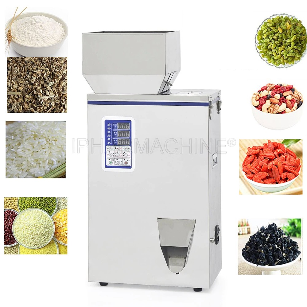 1 500g Filling Machine for Powder and Granule FZZ 5 Racking machine dispensing machine 220V or