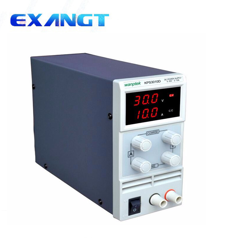 KPS3010D Adjustable Variable Portable DC Switching Power Supply Output 0 30V 0 10A Support AC110 220V