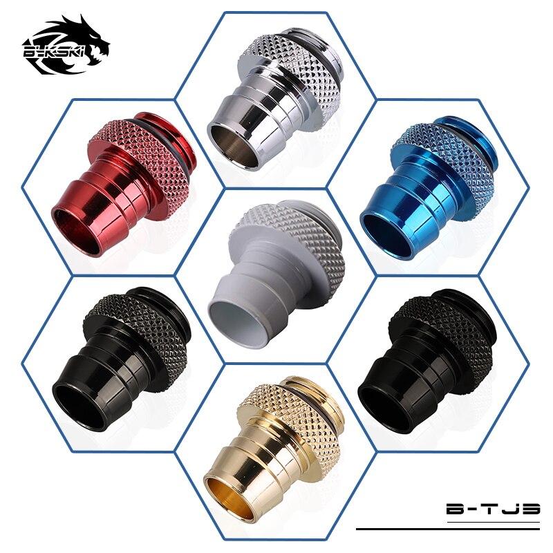 Bykski G1/4'' Soft-Tube Barb Fitting For ID 9-10mm Hose Flexible Soft Tubing B-TJ3