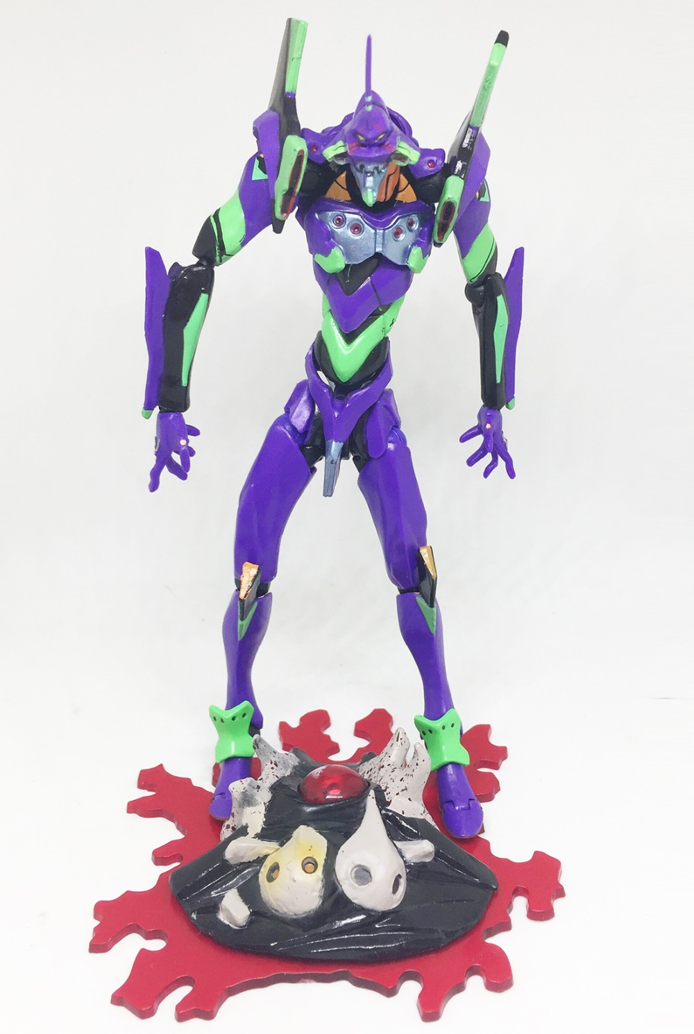 EVA Neon Genesis Evangelion EVA 01 TEST TYPE 01 Action Figure Toy ...