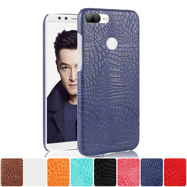 Leather Case for Huawei Honor 9 Lite Dual LLD-L31 LLD-L22A Phone Bumper Case for Huawei Honor9 Lite LLDL31 L22A Hard Frame Cover