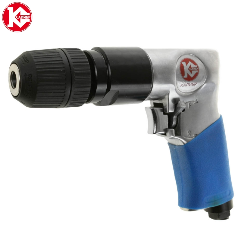 Pneumatic drill Kalibr PD-6,3/114R+ 10mm with positive straight type gas drills drill pneumatic drill drill 3 8 bd 1021