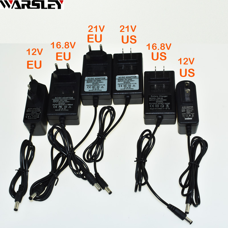 21v 16.8v 12v Cordless ElectricDrill Li-ion Battery Battery Charger Electric Screwdriver Charger Screw Driver Charger With