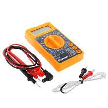 Pocket digital multimeter amperemeter voltmeter ohmmeter für auto auto maschine hause universelle tester strom verkauf von russland 660-005