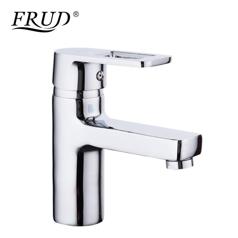 Frud 1set chrome bathroom basin sink faucets hot and cold - Bathroom sink faucets separate hot and cold ...