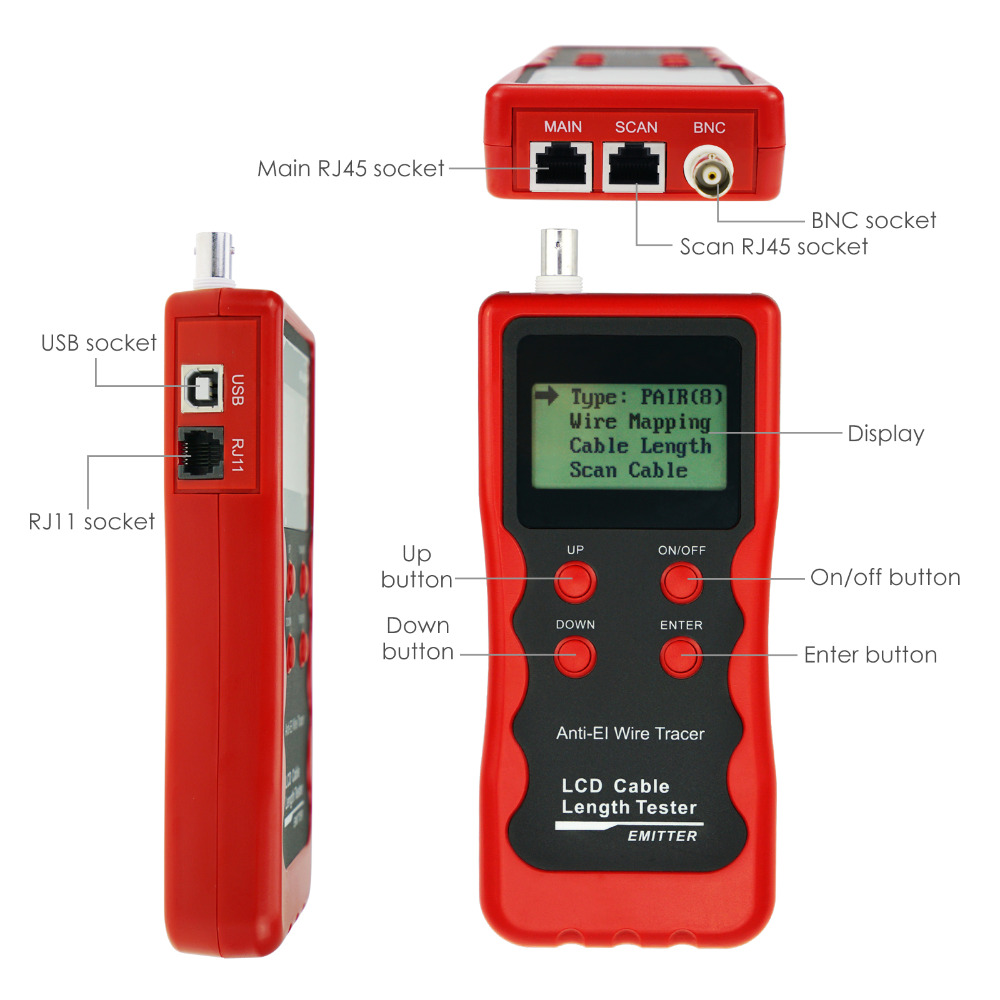 gainexpress-gain-express-Cable-Tester-NF-868W-parts
