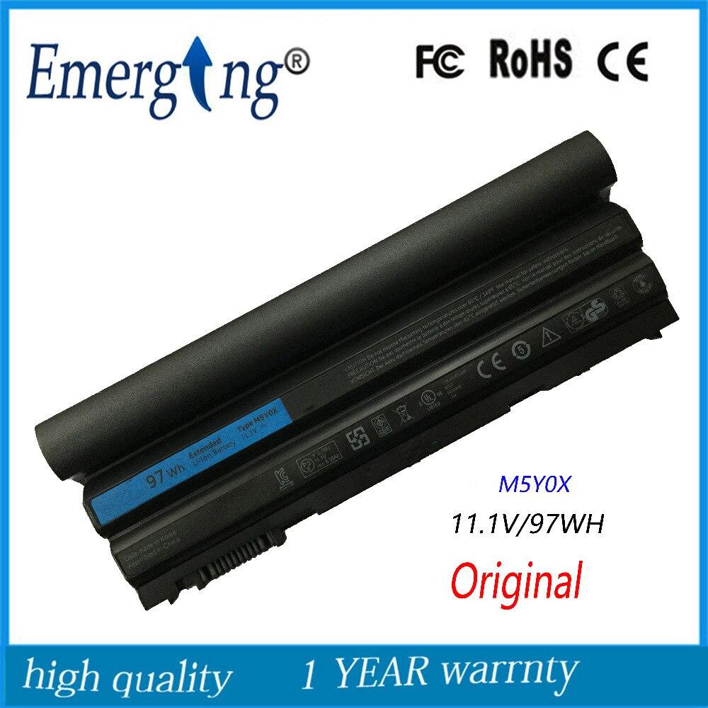 9 ячеек 97wh оригинальный Корея сотовый новый ноутбук Батарея для Dell Latitude <font><b>E6420</b></font> E6430 E6520 E6530 E5420 E5430 E5520 E5530 n3x1d t54fj