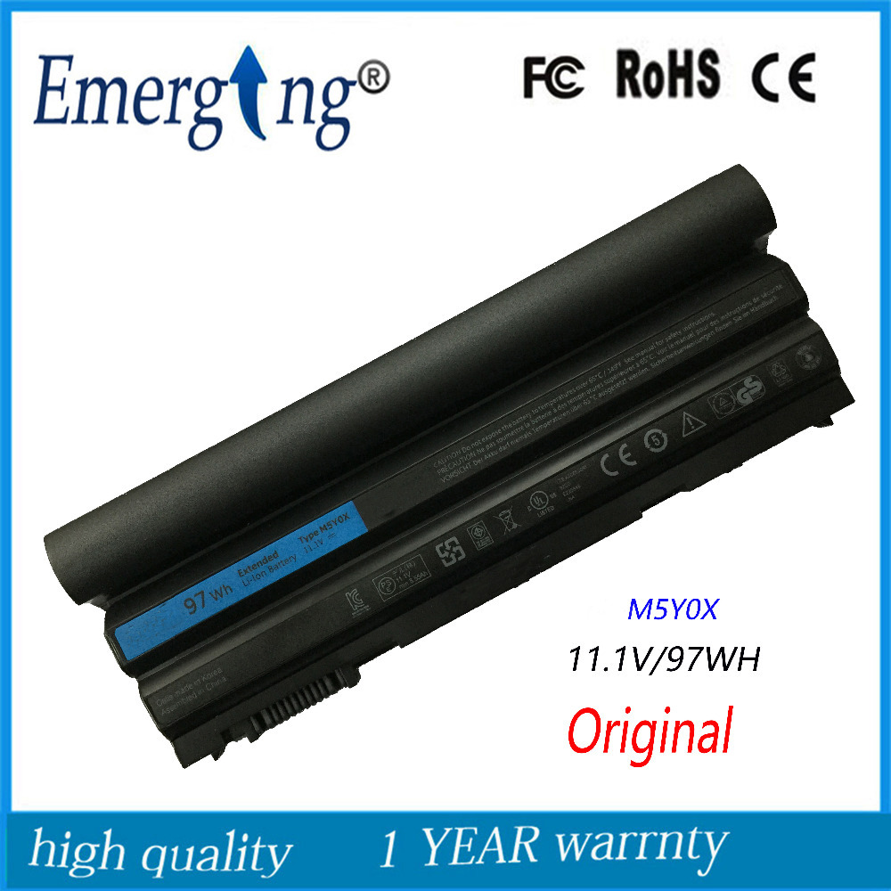 9cells 97WH Original Korea Cell New Laptop Battery for Dell Latitude E6420 E6430 E6520 E6530 E5420 E5430 E5520 E5530 N3X1D T54FJ new laptop 15 6 led screen b156htn02 1 for dell latitude 3540 1920x1080