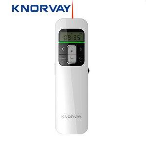 Image 1 - Kablosuz Sunum Şarj Edilebilir Sunum Uzaktan ile lcd ekran 2.4 GHz USB Noktası PPT Clicker Uzaktan Kumanda Fare