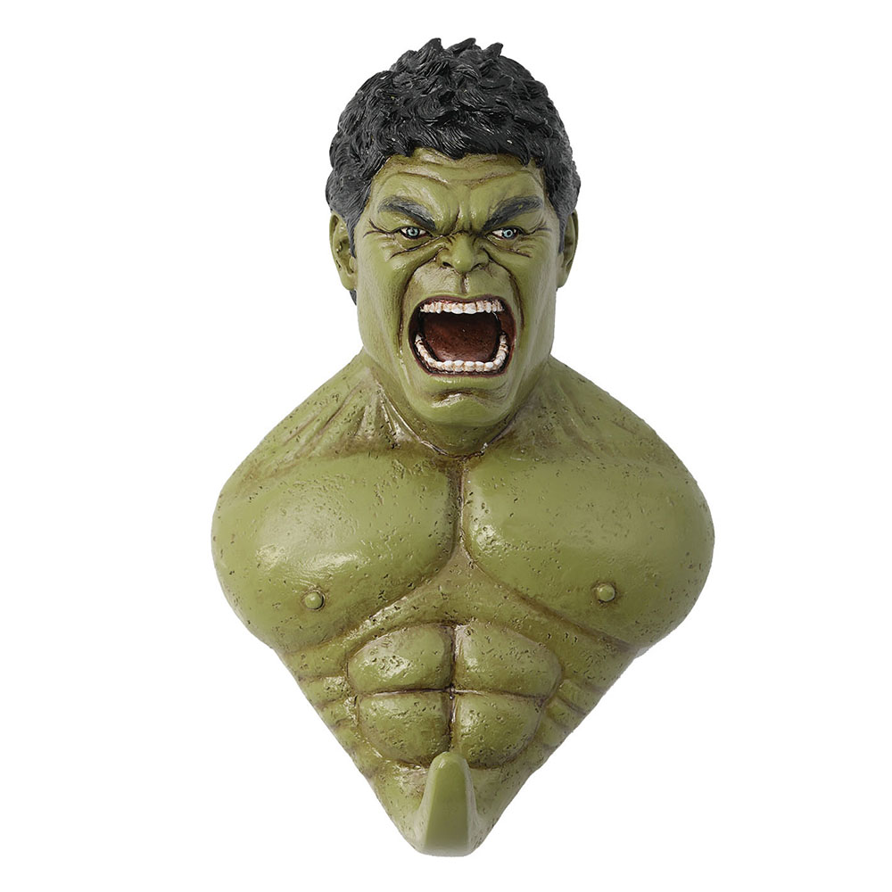 X-COSTUME The Avengers Hulk Derivative Wall Hook Hulk Strong Wall Hook Movie Cosplay Household Goods Accessories Cheap Sale