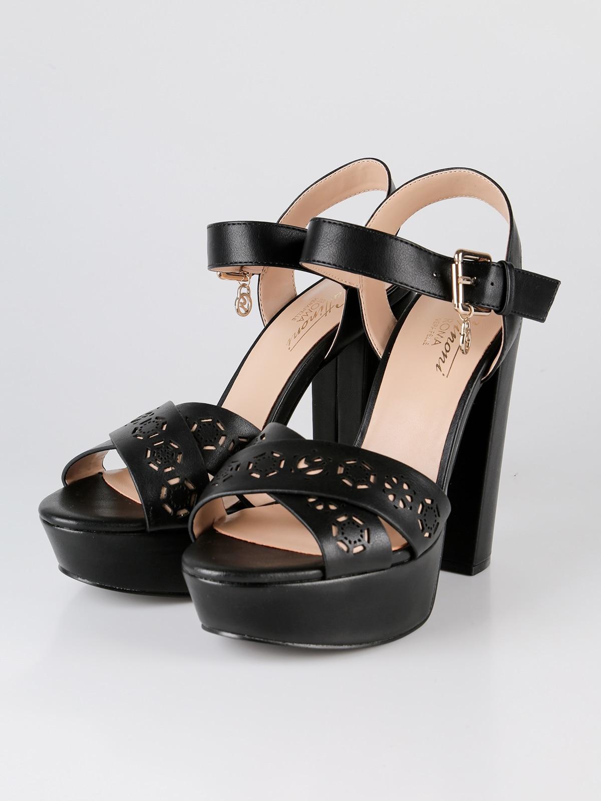 Гаттинони сандалии на блочном каблуке и платформе ламинированное серебро - 2