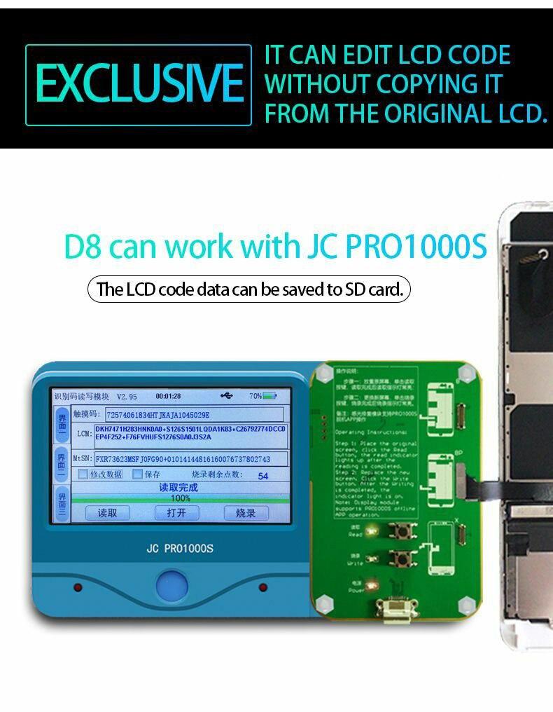 iPhone 8 8P X Ambient Light Sensor repair tool 3