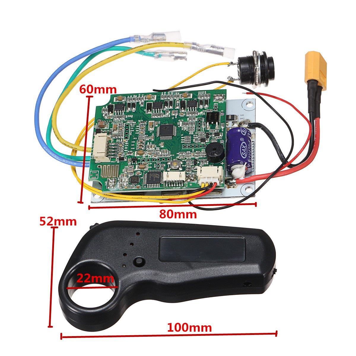 Mini control remoto de un solo motor eléctrico longboard monopatín controlador ESC sustituto de patineta eléctrica Longboard - 4
