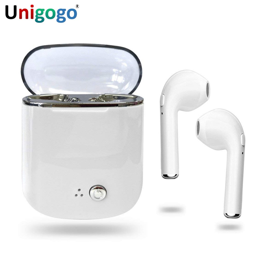 I7S TWS & I7 Mini Wireless Sport Earbuds Stereo Twins Bluetooth Headphones Cordless Portable Music Headset with Mic for Phone