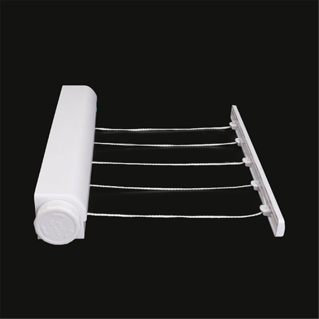 Clothes Line Drying Rack Abs Multi Functional Telescopic Towel