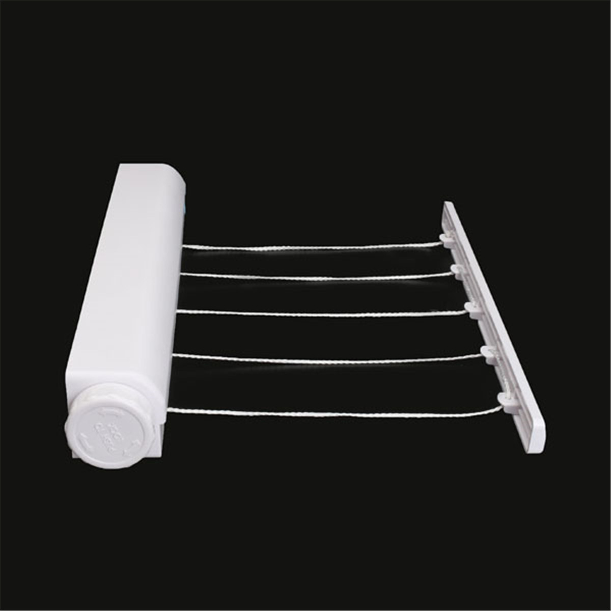 Clothes Line Drying Rack ABS Multi-Functional Telescopic Towel Stainless Steel Rack Clothesline Hotel Bathroom Accessories