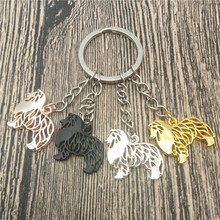 Rough Collie Key Chains Fashion Pet Dog Jewellery Rough Coll