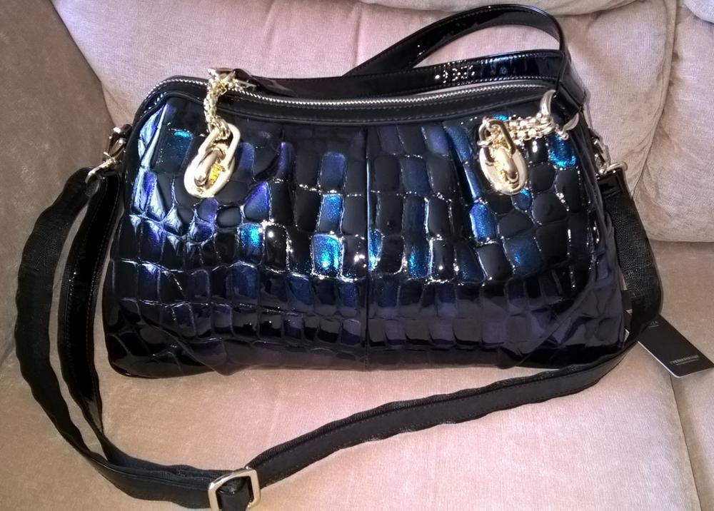 Elegant Genuine Leather Shoulder Bag for Women