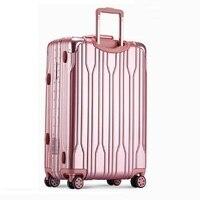 Turystyczna Kids Valise Enfant Set And Travel Bag Aluminum Alloy Frame Valiz Carro Koffer Maleta Luggage Suitcase 202428inch