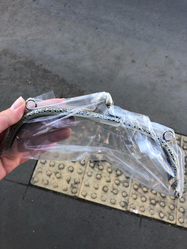 BDTHOOO 20.5cm Metalen Sluiting Lock Bag Portemonnees Frame Handvat Brons voor DIY Gemaakt Naaien Koppeling Handtas Sluiting Tas Hardware accessoires photo review