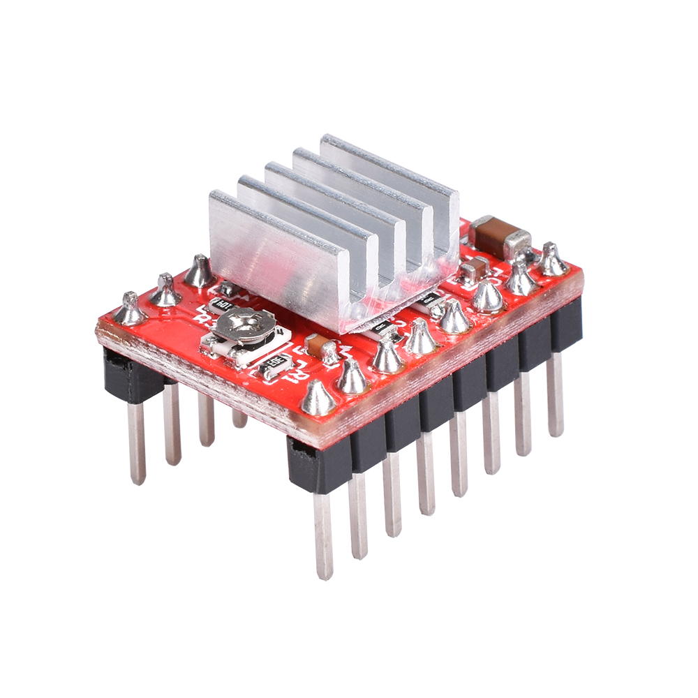Stepper Motor Driver With Heat sink as 3D Printer Parts with Built-in Regulator 2