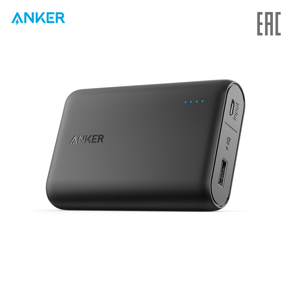 External Battery Pack Anker A1263 charging device charger quick charge anchor anker zolo external battery carbon family