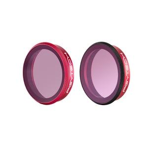 Image 4 - Профессиональный фильтр PGYTECH для DJI Osmo Action, фильтр для объектива UV CPL ND 8 16 32 64 PL ND8 ND16 ND32 ND64