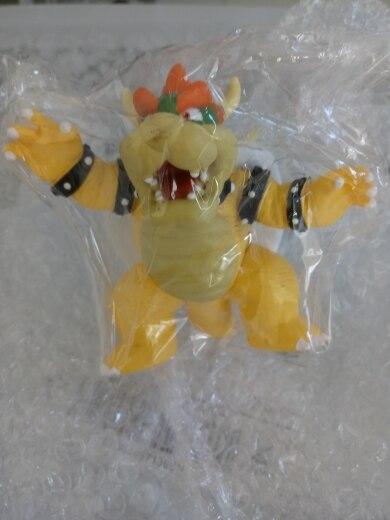 DONKEY KONG Koopa Bowser 1piece 14cm 8cm SUPER MARIO BROS PVC FIGURE TOY Action Figure Toy