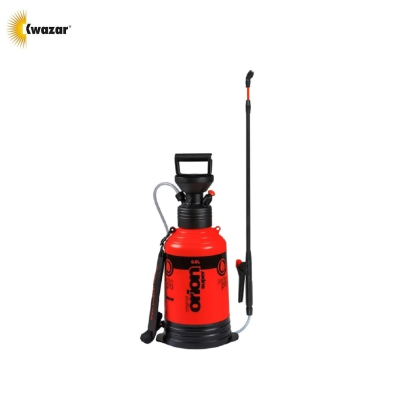 Sprayer KWAZAR Orion Super 6L compressive Spraying apparatus Plant sprayer Herbicide sprayer Garden plant processing опрыскиватель компрессионный kwazar orion pro цвет белый голубой 9 л