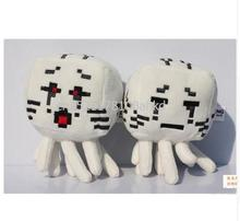 Minecraft Plush Toys Red a black eyes Ghast 16cm Game Cartoon Toys Minecraft Cartoon Game Toys Give children gifts