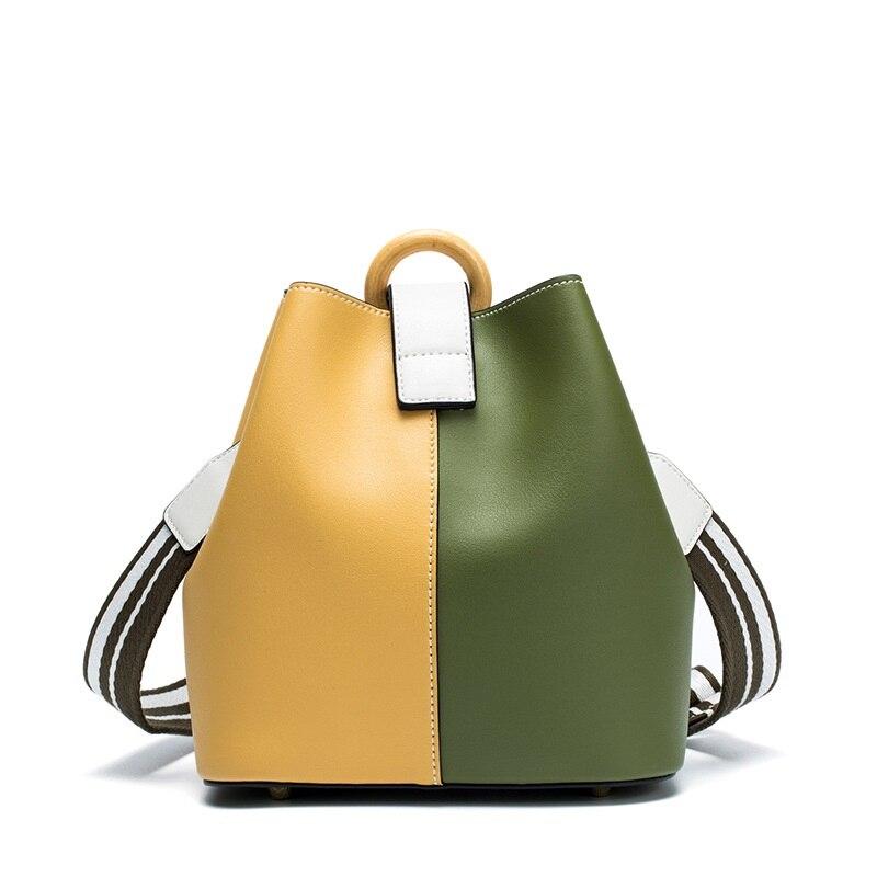 Korean Fashion Bucket Bag 2017 New Casual Wild Shoulder Messenger Bag Luxury Handbags Women Bags Designer 2017 new hot fashion women female handbags cute korean cat trapeze bag black blue silver casual shoulder bags messenger bag