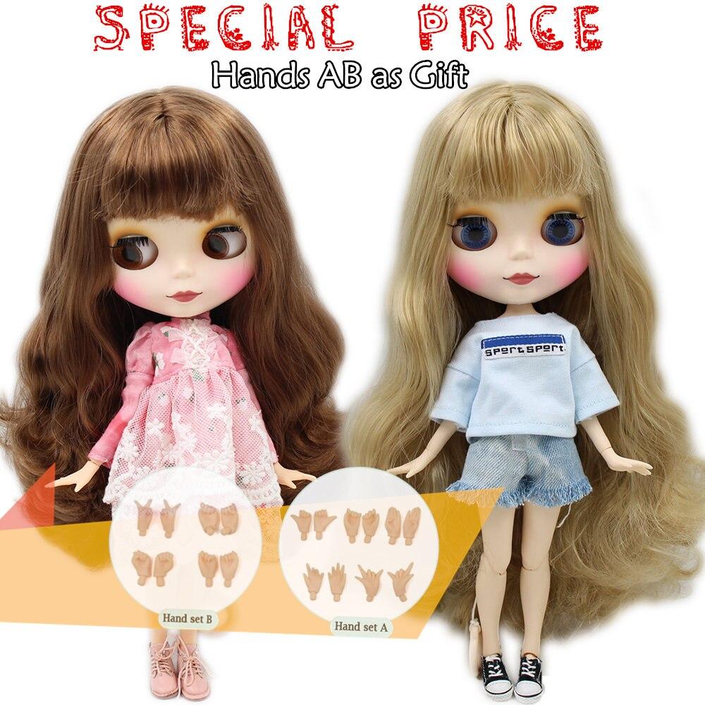 Блит ледяной Обнаженная фабрика кукла подходит для платье самостоятельно DIY Изменить BJD игрушка Специальная цена